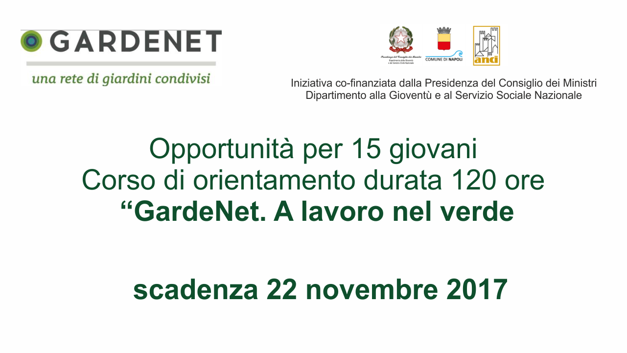 Progetto Gardenet Napoli