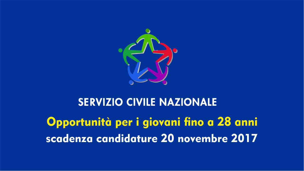 scadenza candidatura domanda servizio civile nazionale