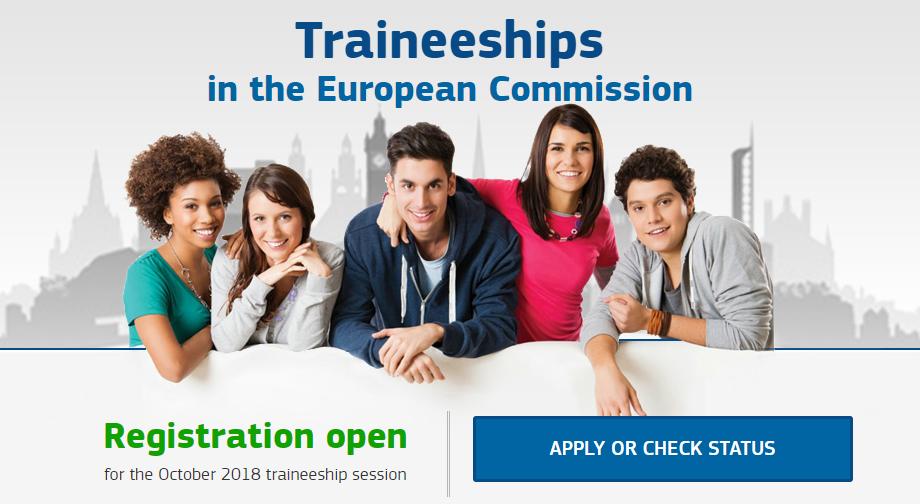 Tirocinio retribuito presso la Commissione Europea