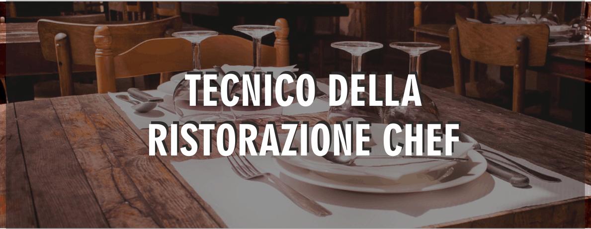 corso tecnico della ristorazione chef